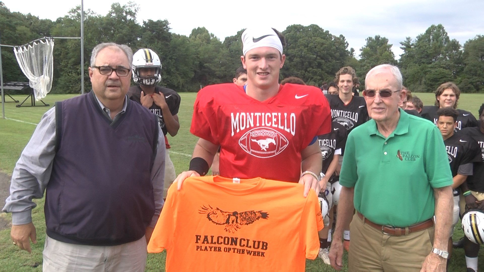 Kevin Jarrell is the Falcon Club Player of the Week