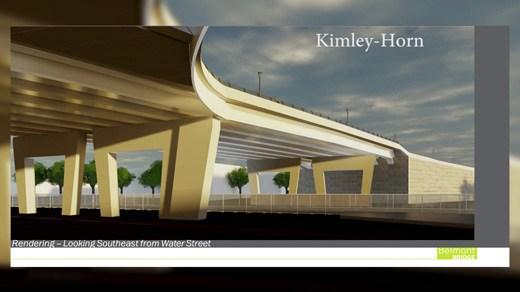 design graphic for Belmont Bridge