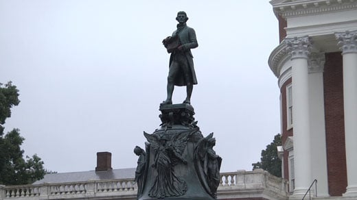 UVA President and Students Respond to Covering of Jefferson Statue