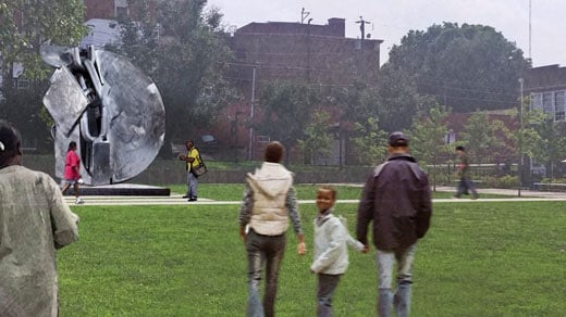 Proposed monument to commemorate the Vinegar Hill neighborhood