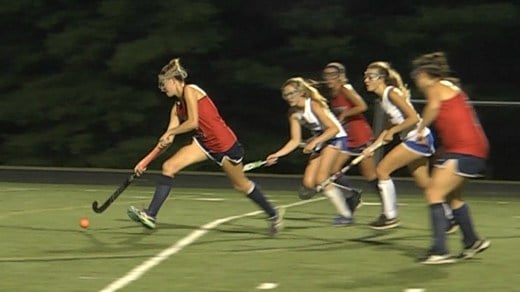 Kat Bianchetto scored twice for Albemarle