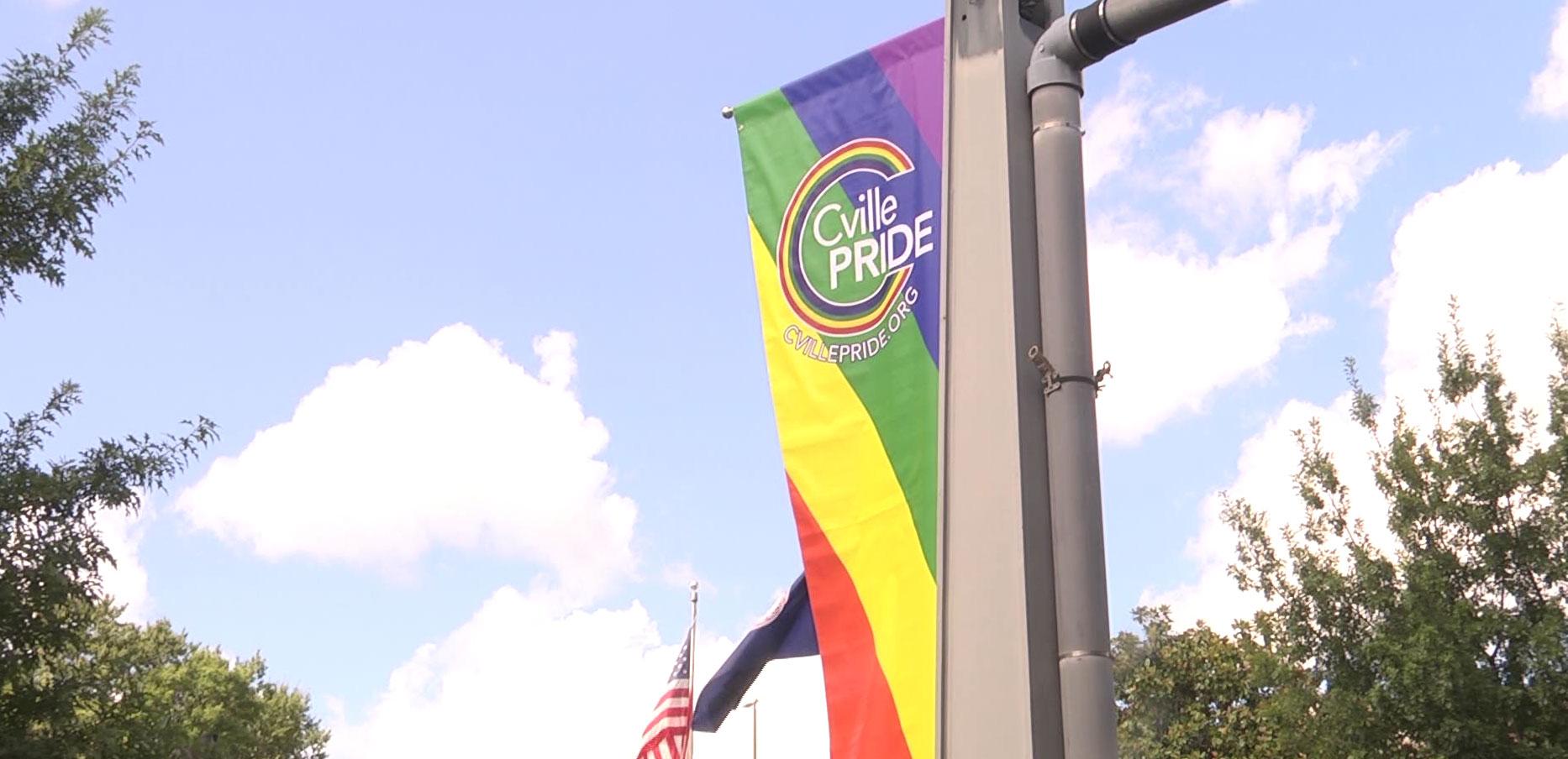 Cville Pride at Spring Pavilion