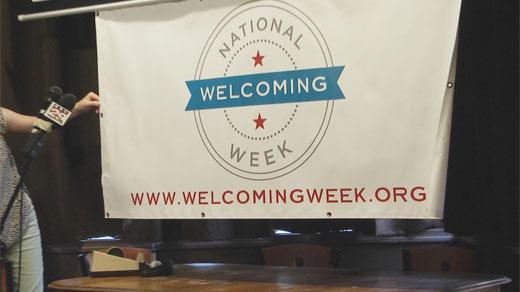 Welcoming Week banner