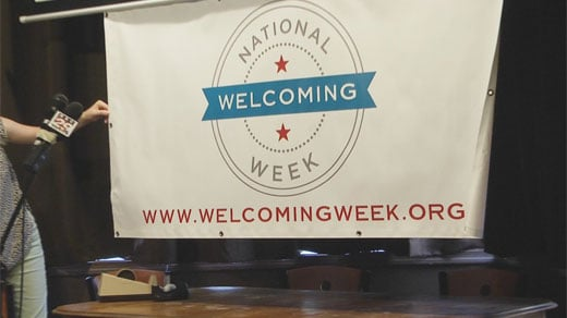 Welcoming Week banner