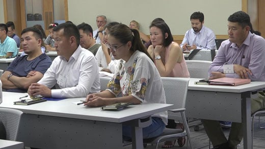 Mongolia Delegation Visits Charlottesville to Learn History of American Democracy