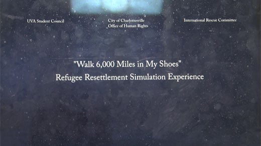 Human Rights Commission, International Committee Hosts Resettlement Simulation