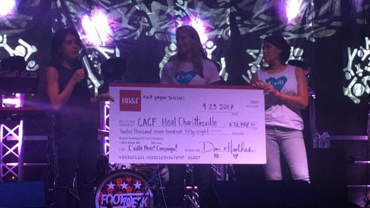 Cville Heart Campaign Raises Thousands of Dollars for Heal Charlottesville Fund