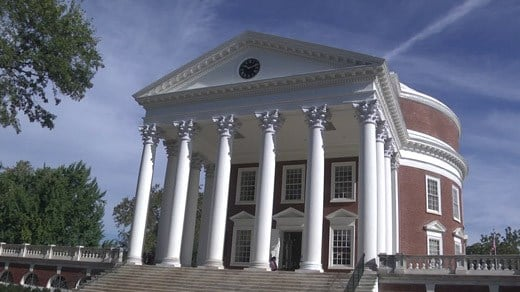 University of Virginia's historic Rotunda