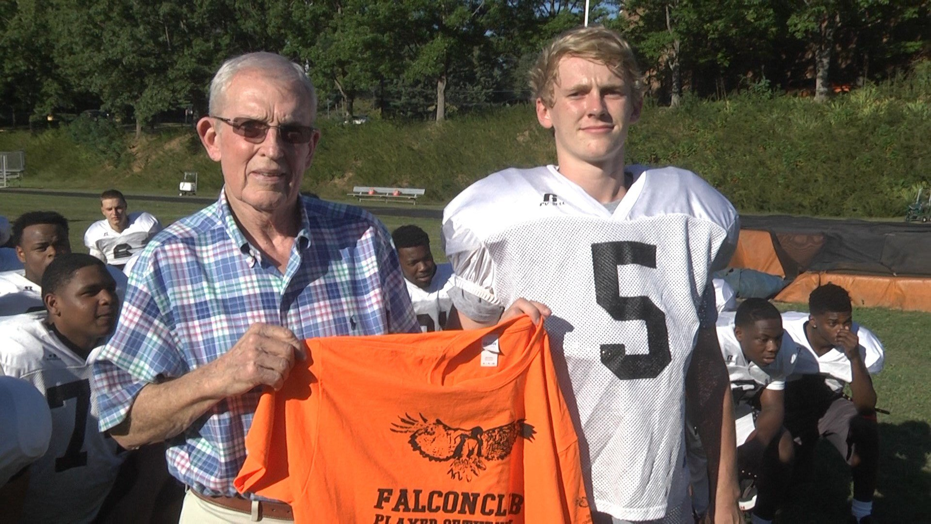 CHS QB Sam Neale is the Falcon Club Player of the Week