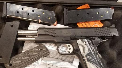 Marcos Maldonado-Payan's pistol