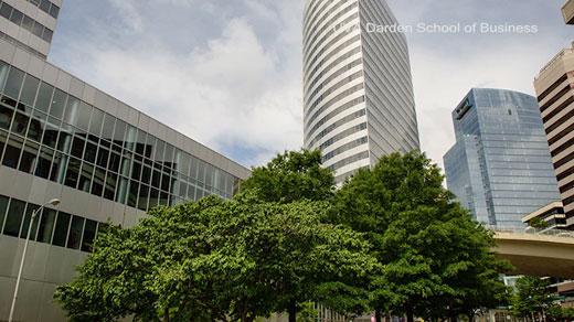 New Darden School of Business building