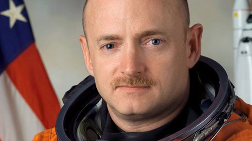 Mark Kelly, photo courtesy of NASA
