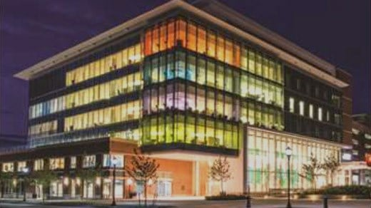 UVA Battle Building (Image courtesy the University of Virginia)