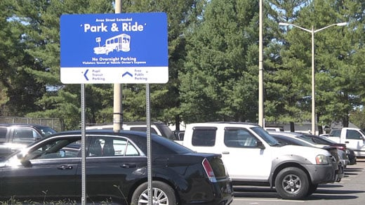 Park & Ride located on Avon St Extended