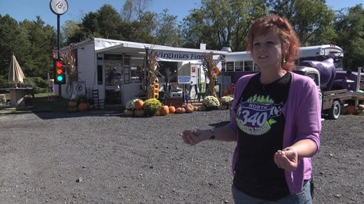 Becky Kincaid, owner of the Purple Cow