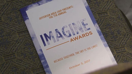 The Imagine Awards will honor three families