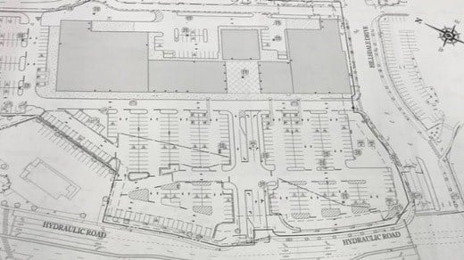 Proposed plans for the former site of Kmart and Gold's Gym