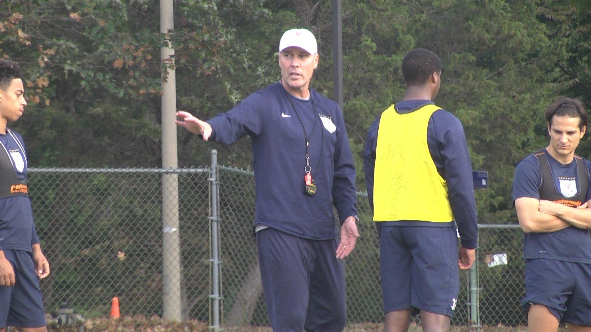 UVa coach George Gelnovatch
