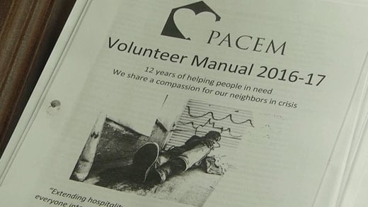 Volunteer manual for PACEM