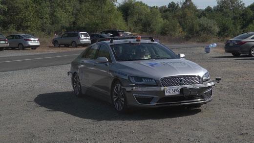 Perrone's driverless car