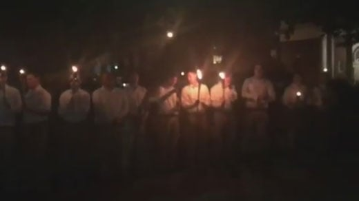 White nationalists gathered at Emancipation Park