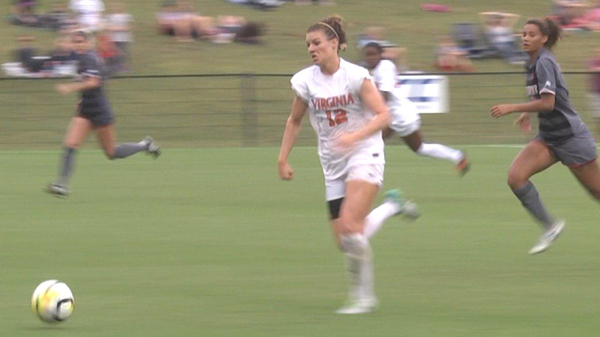 Veronica Latsko scored her fifth goal of the season in OT to give UVa 1-0 win over Louisville