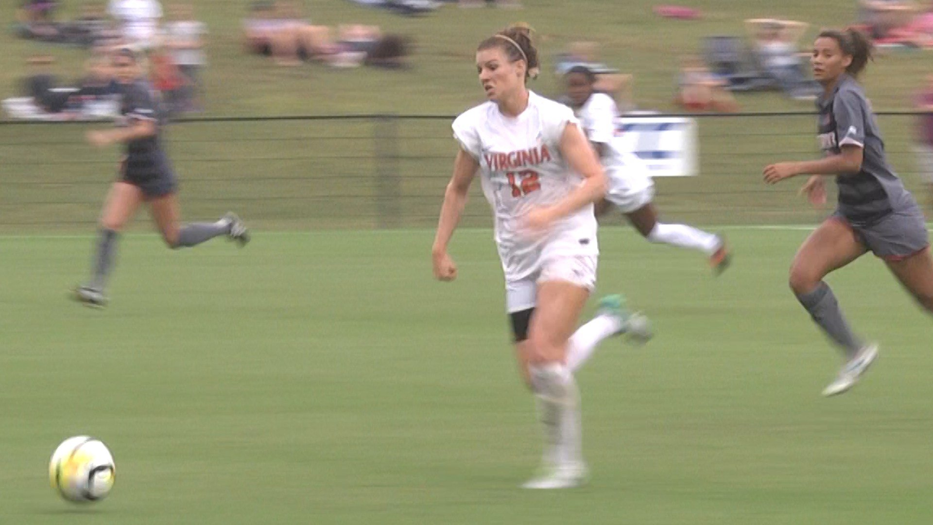 Veronica Latsko scored her fifth goal of the season in OT to give UVa 1-0 win over Louisville