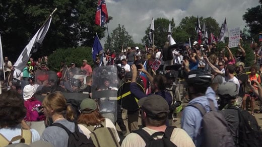 Unite the Right rally at Emancipation Park (FILE IMAGE)