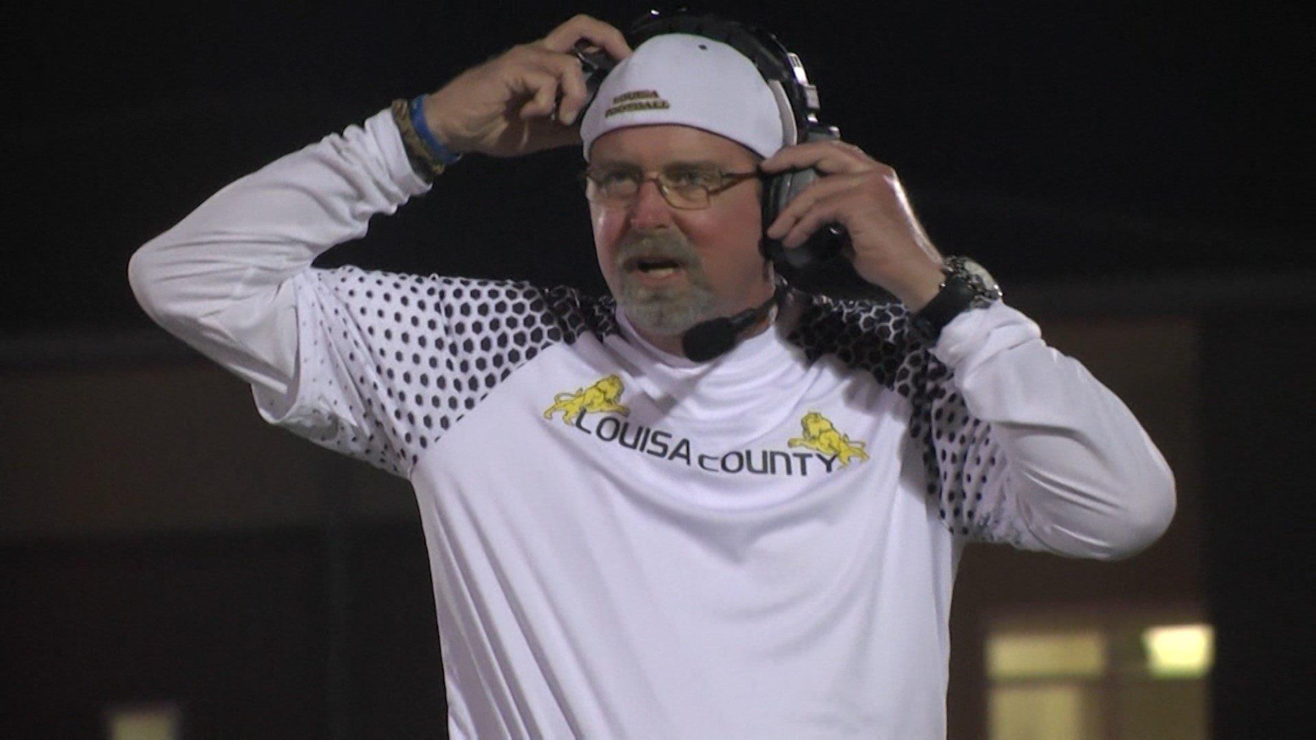 LCHS head coach Mark Fischer