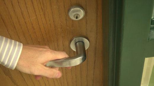 Many door locks haven't been updated since 2008