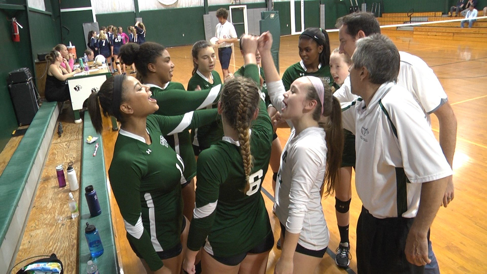 Tandem Friends volleyball improves to 12-1