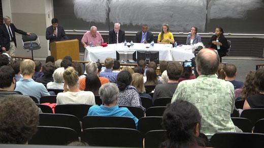 Council candidates at debate at UVA