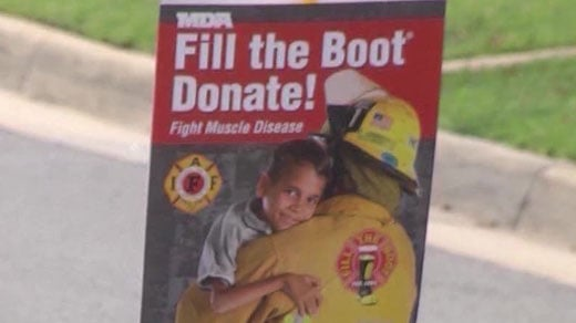 Fill the Boot sign
