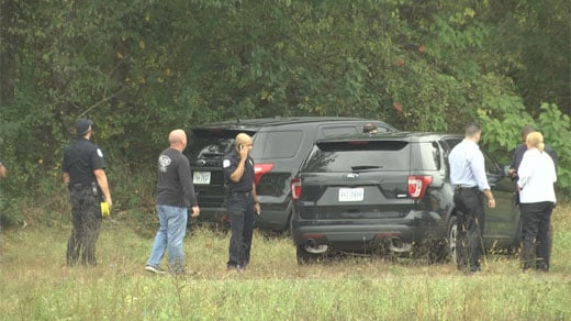 Police Chief Al Thomas, on scene