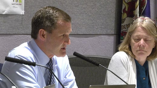 Mayor Signer offered an apology at the meeting