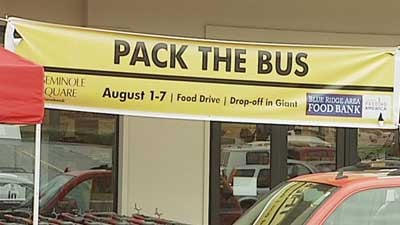 Central Virginia Food Bank Backpack Program
