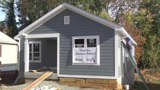 New home for Christina Harris