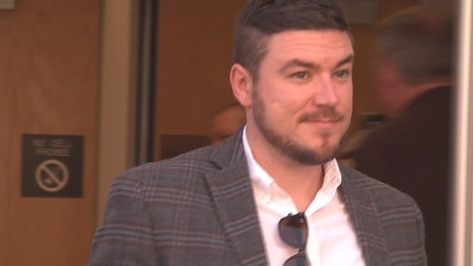 Jason Kessler outside Charlottesville General District Court (FILE IMAGE)