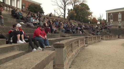 at University of Virginia