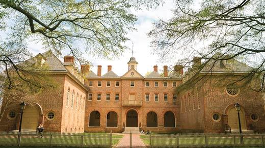 College of William & Mary (Photo courtesy www.wm.edu)