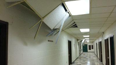Extensive Earthquake Damage To 3 Louisa Schools Wvir