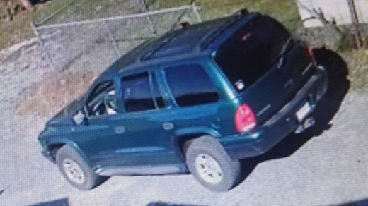 Police say a Dodge Durango was used in commission of the burglary