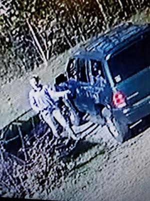 Female suspect with dodge Durango