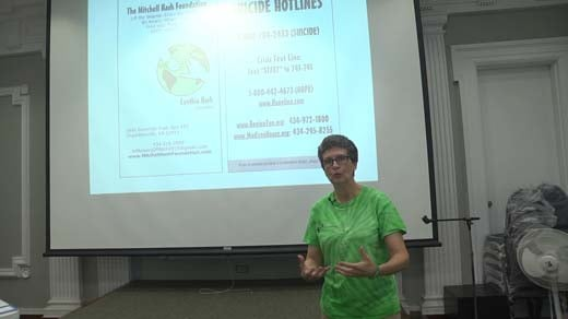 Cynthia Hash held a talk at JMRL on Nov. 5