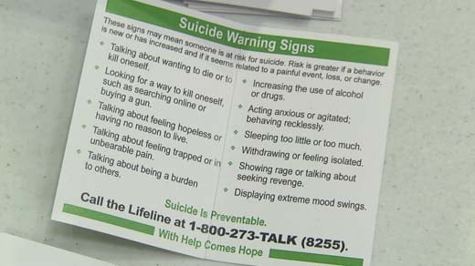 Suicide Signs