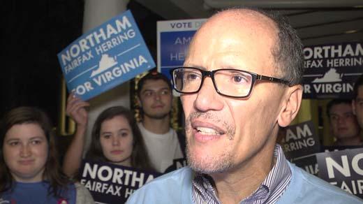 Tom Perez spoke in Charlottesville on Nov. 5