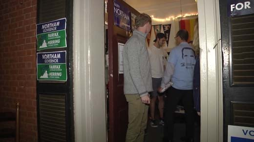 Students canvassed to encourage others to vote