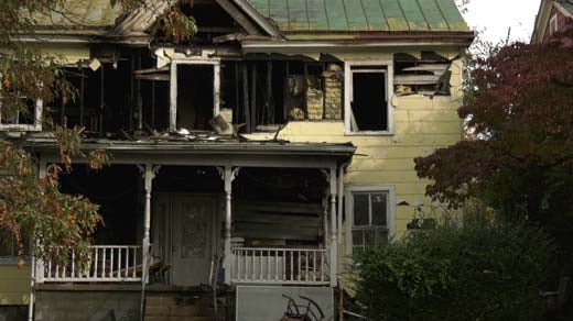 CFD responded to a house fire on Nov. 6