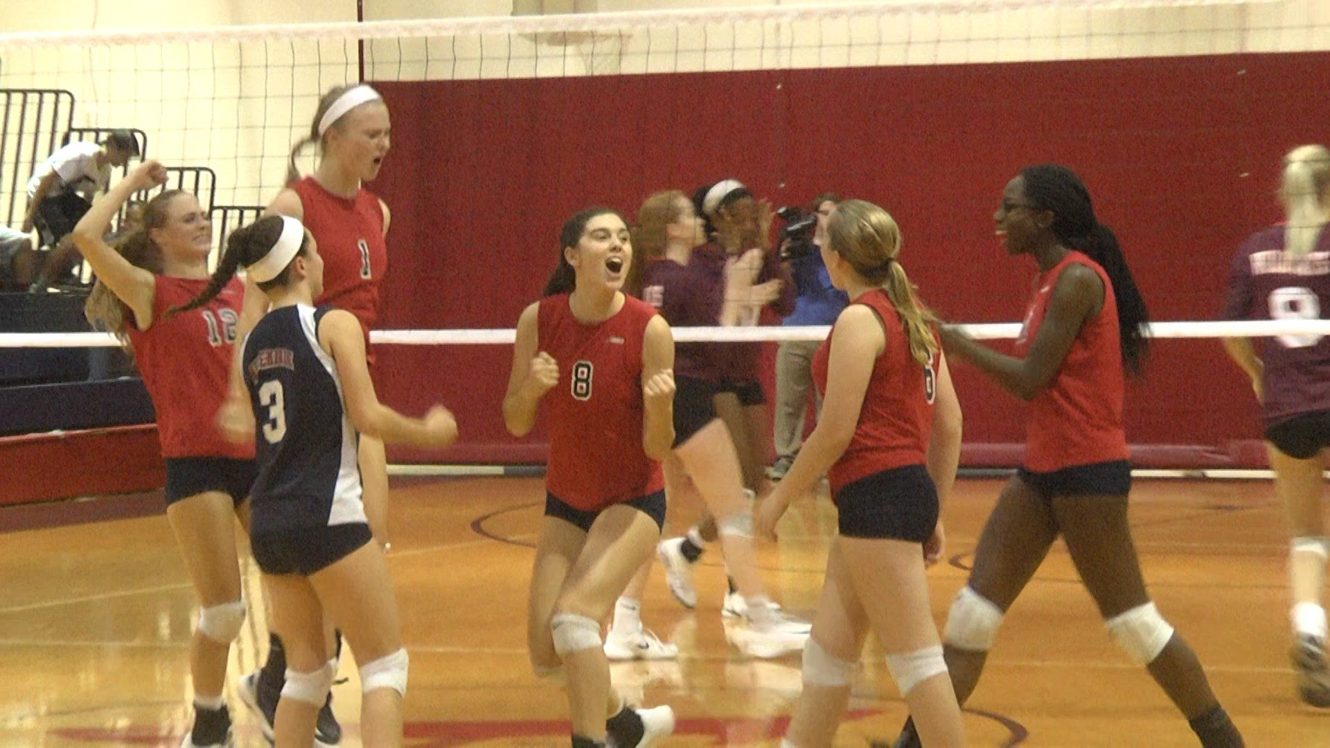 Albemarle volleyball rallies to beat Mountain View 3-2