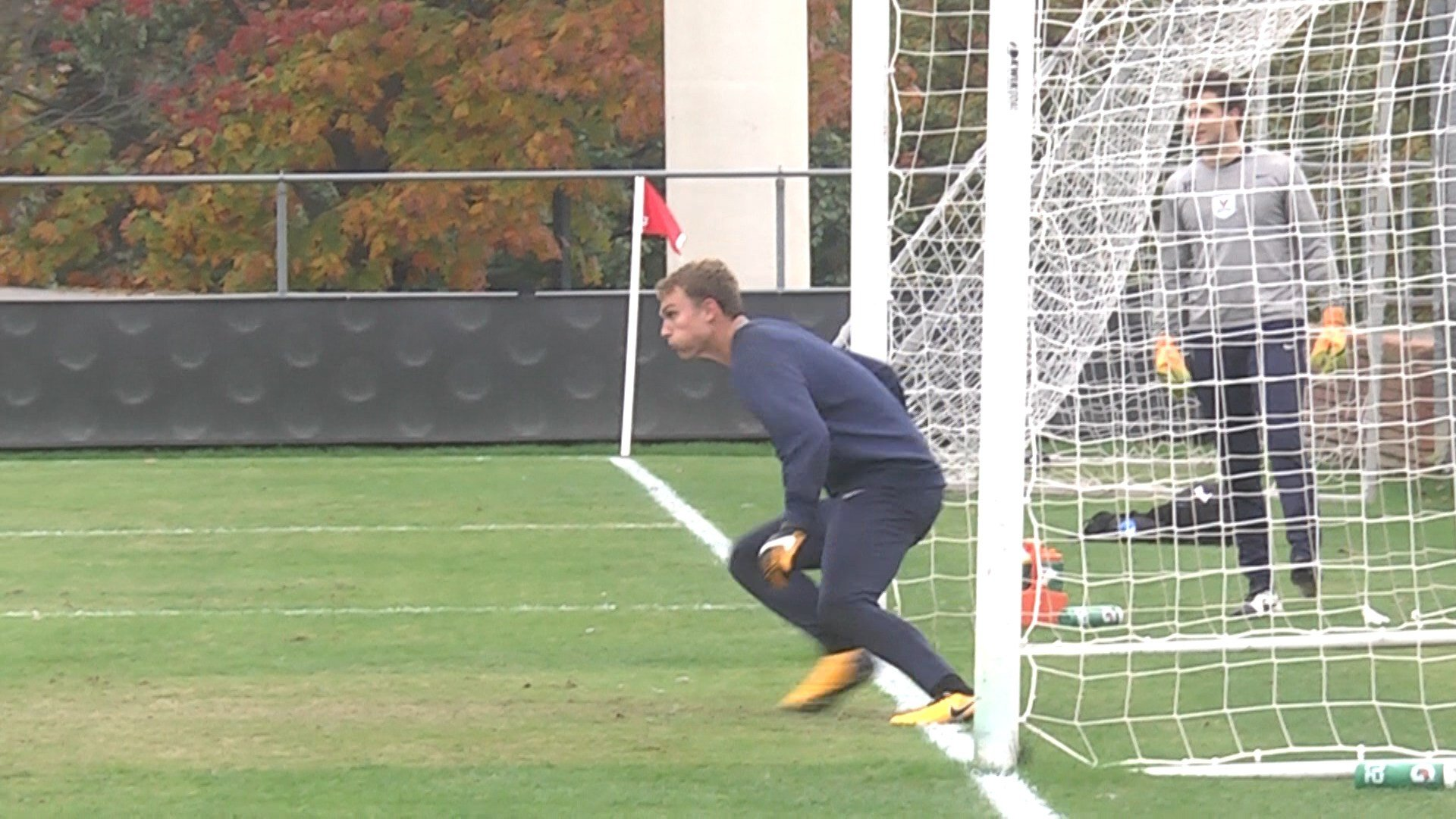 Senior goalkeeper Jeff Caldwell was named Second Team All-Conference